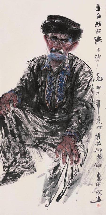 任惠中2014年新疆写生