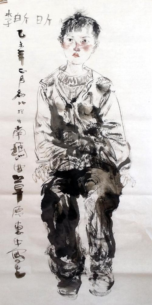任惠中《甘南藏区写生》现场及作品欣赏