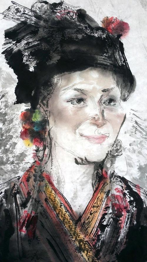 任惠中2015西双版纳写生作品欣赏