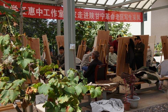 任惠中作品2013年甘肃环县孟家湾写生