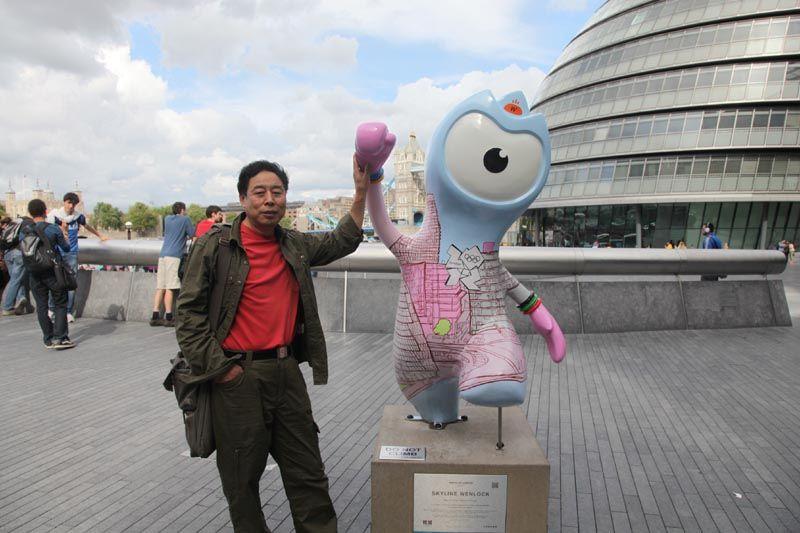 苗再新照片2012伦敦艺术之旅03
