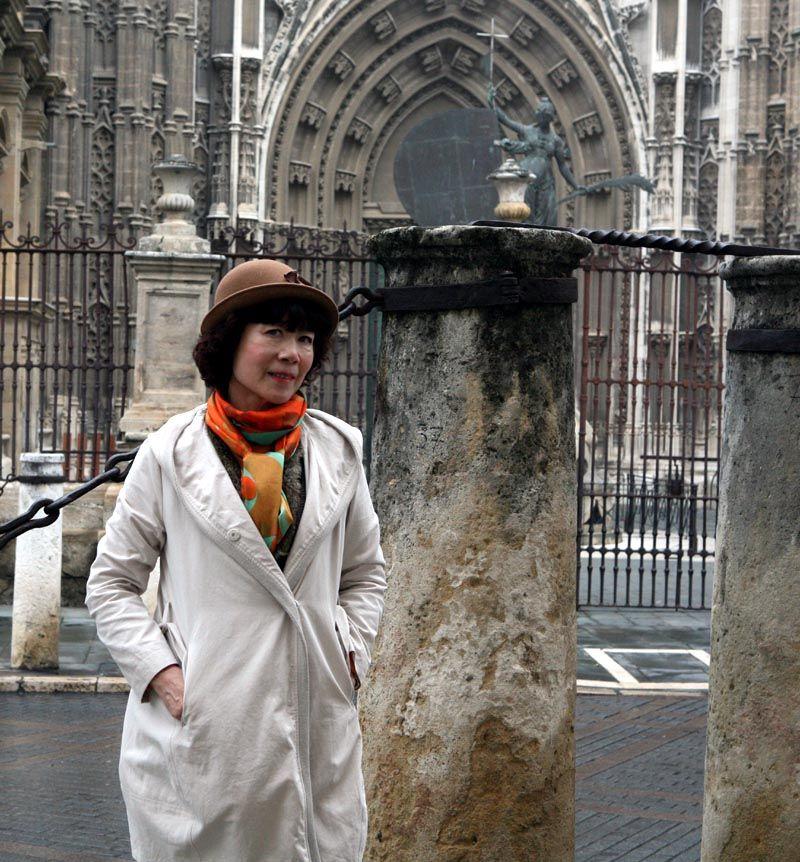 崔虹照片2013年葡萄牙塞维利亚大教堂