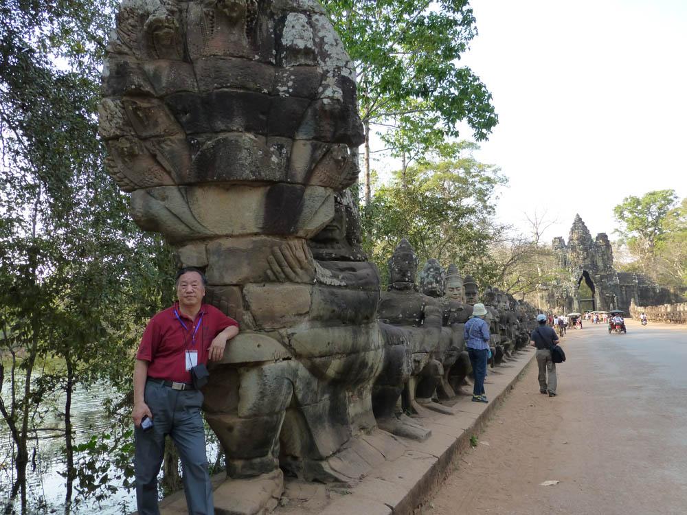 戴顺智照片柬埔寨越南行10