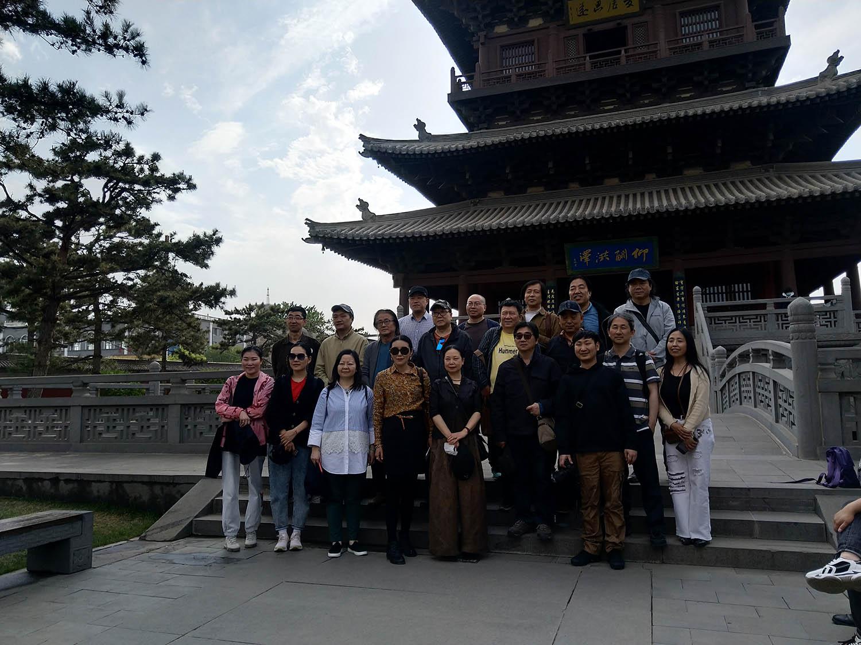 马硕山照片中国艺术研究院国画院赴山西大同采风写生