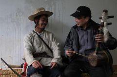 2013年怒江与民间艺人