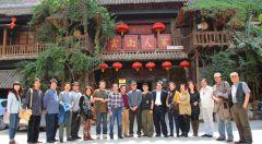 2013年带高研班学员云南写生途中