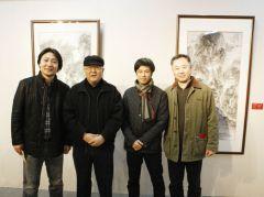 石峰活动照片(左起)石峰.龙瑞.赵卫.刘罡