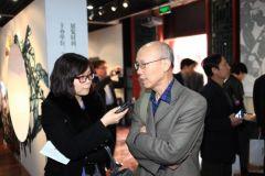 马硕山照片郎绍君先生就展览接受采访