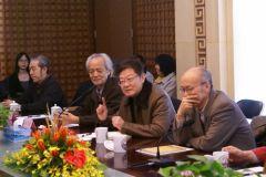 马硕山照片姜宝林先生在研讨会上发言