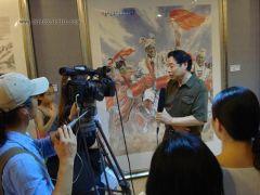 苗再新照片民族之光展览现场