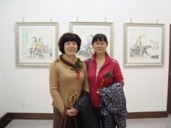烟台女画家作品展03