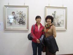 烟台女画家作品展02