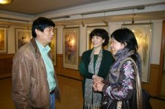 崔虹照片2009北京德泰画廊崔虹个展01