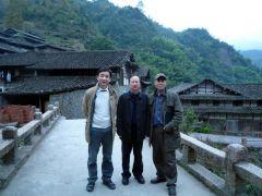 刘选让活动照片在温州泰顺县
