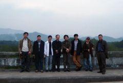 刘选让活动照片中国艺术研究院中国画院的田黎明院长等一行八人浙江温州采风