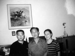 优乐娱乐官网照片与岳父和妻子