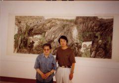 韩敬伟照片1993年于崔子范美术馆举办个展