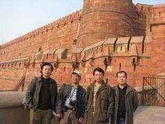 韩敬伟照片印度考察09