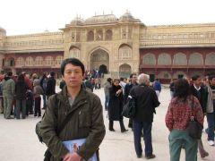 韩敬伟照片印度考察05