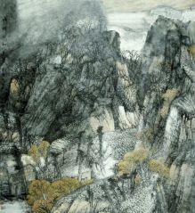 韩敬伟照片参展作品《山乡的和音》