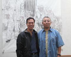 2010年9月,郭山泽在陈嵘老师画室