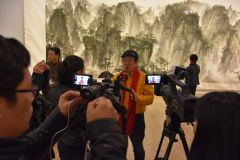 ARTIST_NAME作品中国美术馆画展采访