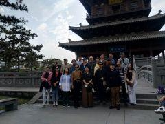 马硕山活动照片中国艺术研究院国画院赴山西大同采风写生