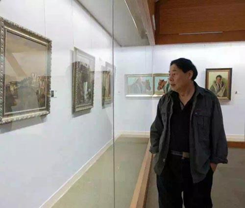 中国美术家协会理事、中国书法家协会理事苗再新作为特邀嘉宾出席并参展