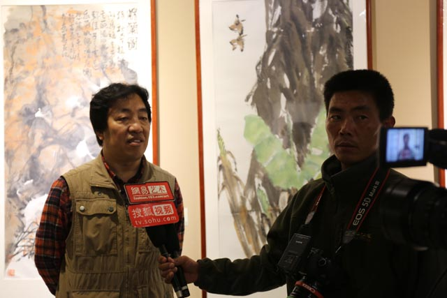 平安秦皇岛中国书画名家邀请展在秦皇美术馆隆重开幕