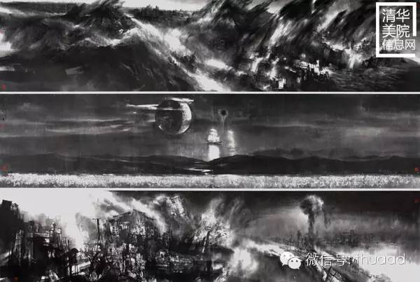 《恍若隔世》320cmx210cm(参加第三届科学与艺术展).jpg