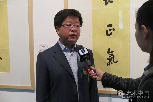 中国宣纸股份有限公司董事长胡文军接受媒体采访.jpg
