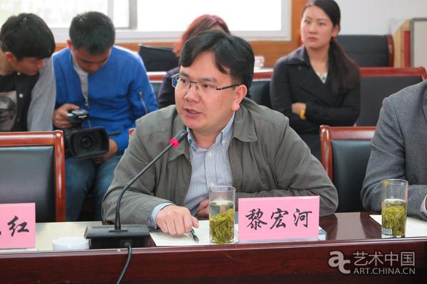 《中国文化报》总编室主任黎宏河发言.jpg