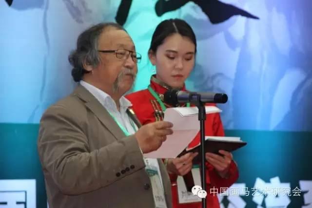 蒙古国画家协会主席 策格米徳致辞.jpg