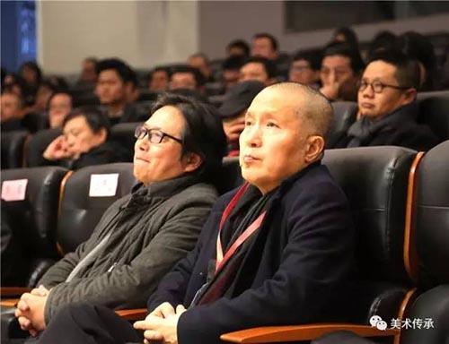 江苏省国画院院长、省美协主席、省美术馆馆长 周京新(右).jpg