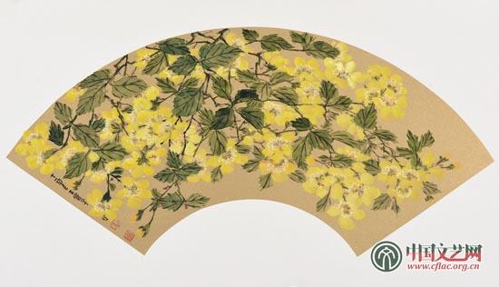 《北京的春天》扇面系列九.jpg