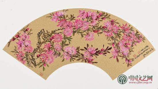 《北京的春天》扇面系列八.jpg
