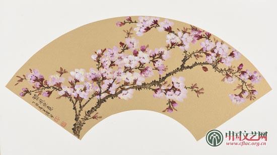《北京的春天》扇面系列四.jpg