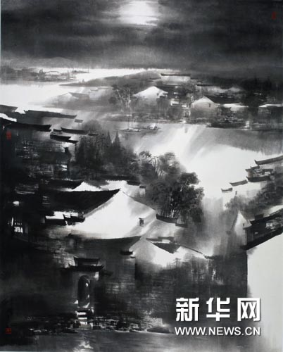 皖南迷境异幻时(中国美术馆收藏).jpg