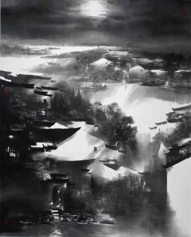 《皖南迷境异幻时》160CMX200CM(中国美术馆收藏).jpg