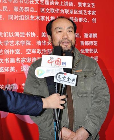 中国美术家协会理事、中国画学会理事李呈修接受采访.jpg