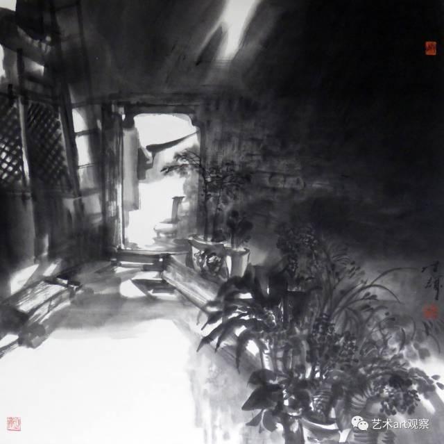 《老院子的光线》 69cmx69cm   (中国美术馆收藏).jpg