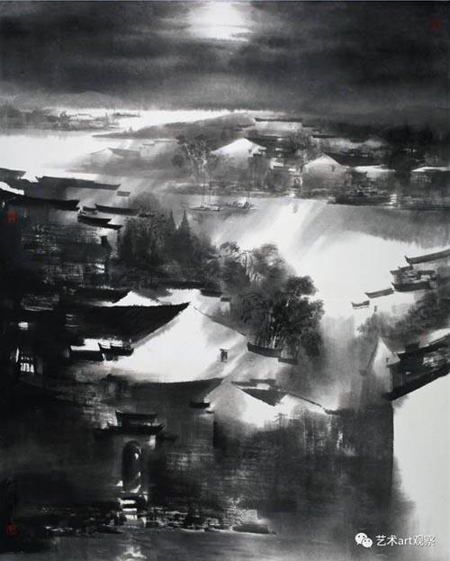 《皖南迷境异幻时》160x200cm  (中国美术馆收藏).jpg