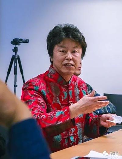 中国画家于亨在唐诗鉴赏研讨会上发言.jpg