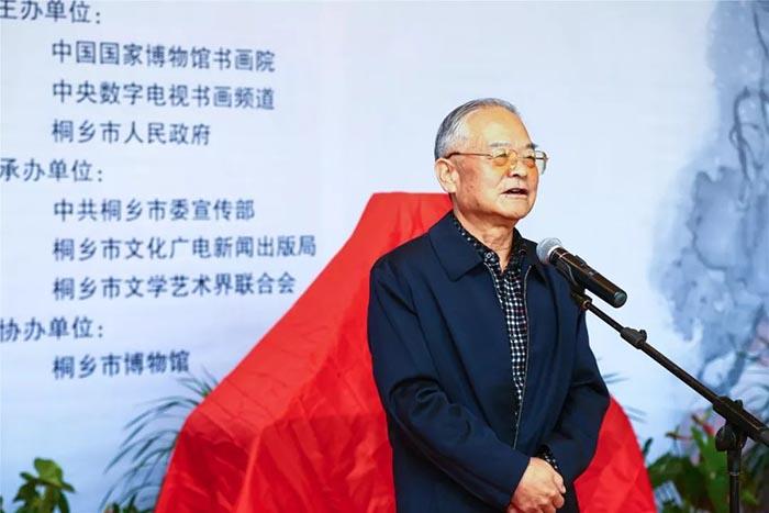 原浙江省委常委、浙江省军区政委马以芝致辞.jpg