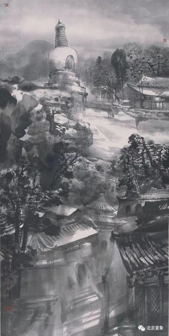 陈辉《大觉寺冬境》.jpg