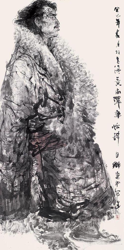 2013藏族水墨人物写生之八.jpg