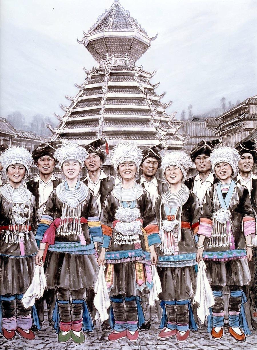 苗再新作品和声―侗族