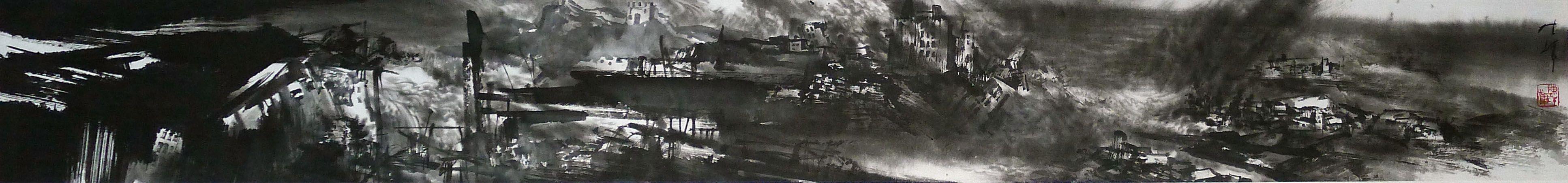 陈辉作品灾难系列之一