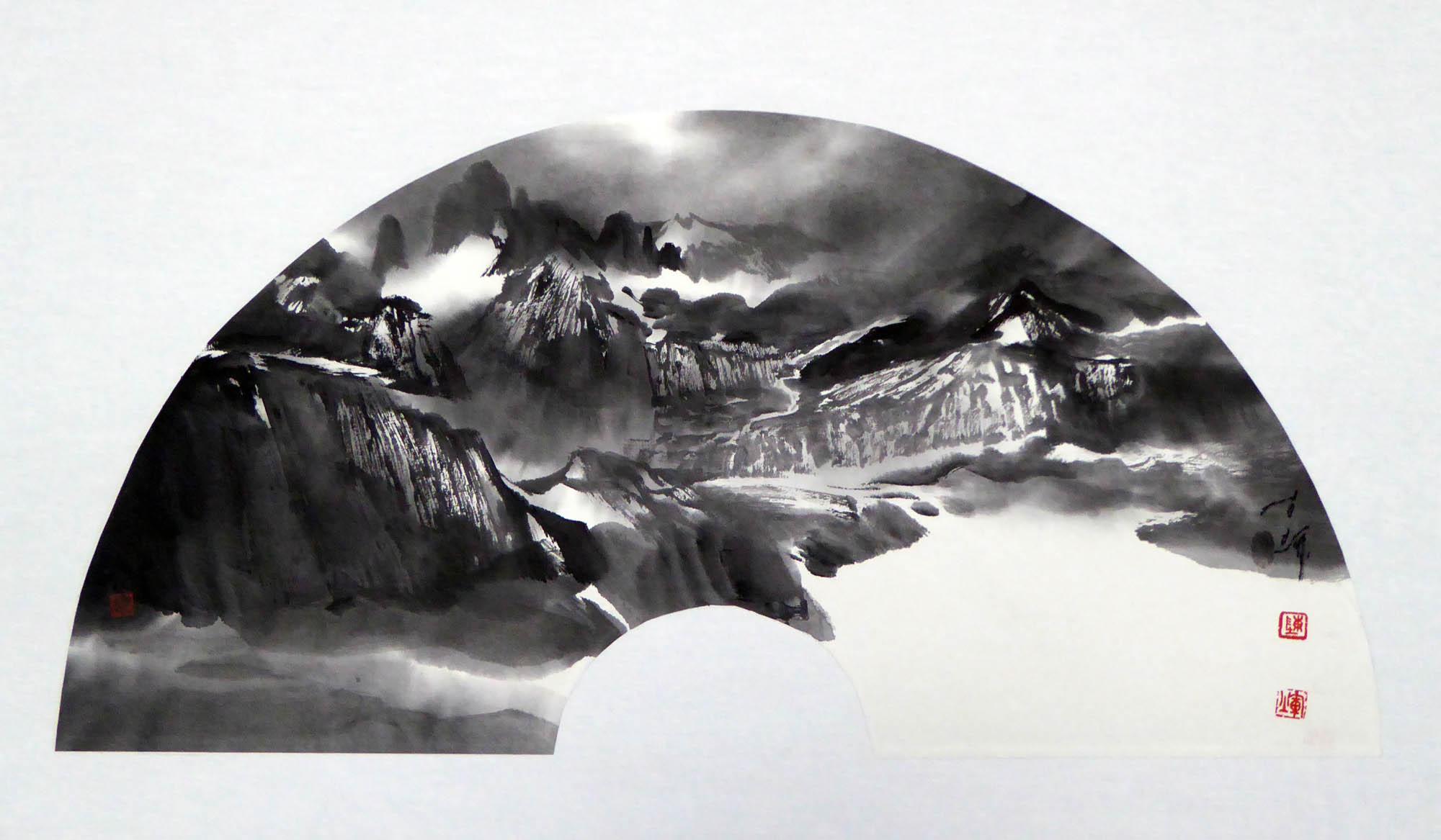 陈辉作品喀喇昆仑山脉之圣境