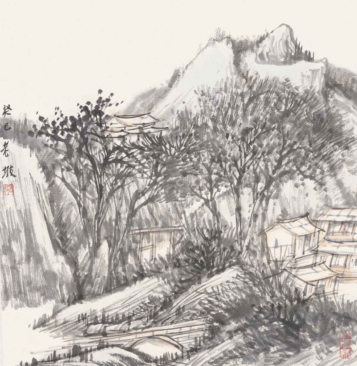 韩敬伟作品2013小品百幅之03